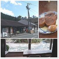 静岡市オクシズ玄国茶屋にて - 番犬ハナとMIX犬サクのおさんぽ毎日