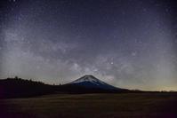 富士山と天の川 - 風とこだま