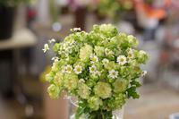 【エクレール】スプレーバラのブーケ - きらら・花だより ベイエリア・海浜幕張の花屋