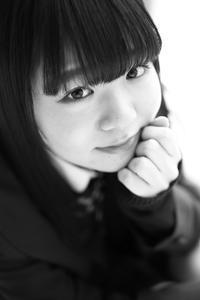 川本好華ちゃん28 - モノクロポートレート写真館