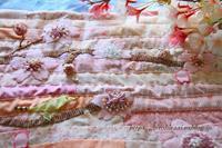 桜のミニキルト - 暮らしを紡ぐ