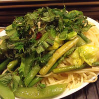 ラーメン二郎の考え方かもな、野菜のペペロンチーノ。 - 線路マニアでアコースティックなギタリスト竹内いちろ@三重/四日市