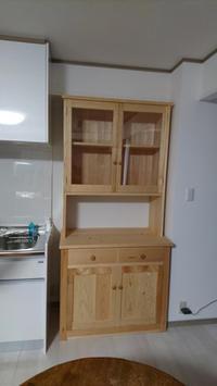 食器棚納品 - KAKI CABINETMAKER