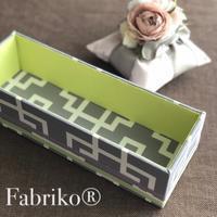 そろそろ春らしい配色したい - Fabrikoのカルトナージュ ~神戸のアトリエ~
