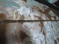 神社絵馬 復元修復~板の修正~ - 陰翳の煌き