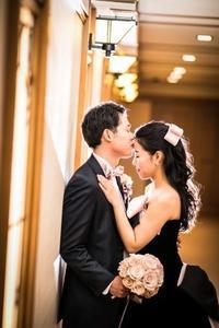 帝国ホテルの卒花嫁様よりエマリーエのドレスにあわせて - 一会 ウエディングの花