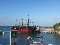 Pirates of Caribbean dinner show - ブリアンヌのお散歩日記