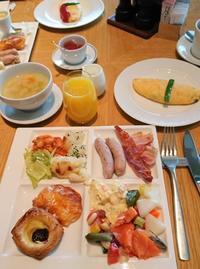 ザ・キャピトルホテル東急・ダイニング「ORIGAMI」で、ブッフェの朝食 - カステラさん