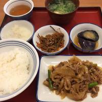 四品定食@かっぽうぎ 新大阪 - 香港と黒猫とイズタマアル2