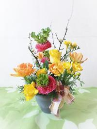 ビタミンカラーの春の花を - HANATSUDOI