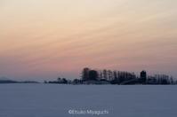 暁の空、春めいて - ekkoの --- four seasons --- 北海道