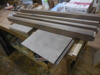 チェストの背板部分の加工 - 手作り家具工房の記録