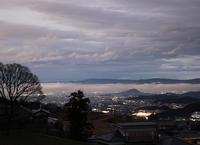 御所市西北窪(にしきたくぼ)畝傍山遠望夕景 - 魅せられて大和路