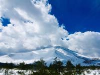雪の浅間山 - 山谷彷徨