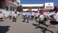 最後の3分間マラソン - 笠間市 ともべ幼稚園 ひろばの裏庭<笠間市(旧友部町)>