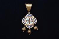 ピウス9世時代のモザイクペンダント - AntiqueJewellery GoodWill