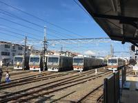 静岡鉄道から見る富士山。 - 子どもと暮らしと鉄道と
