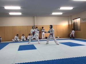 華頂と練習試合 - 大阪学芸 空手道応援ブログ