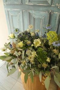 ホワイトデーの花 - 北赤羽花屋ソレイユの日々の花