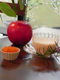 果実倶楽部今月は、りんご♡ - 心とカラダが元気になるアロマ&ハーブガーデン教室chant rose