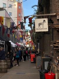 Maltby Street Market で栄えなワッフル - ハーブのある暮らし