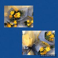 卒部式の花束 - Rico 花の教室