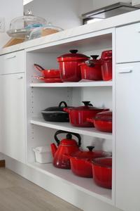 キッチングッズは「赤」が好き! - 登志子のキッチン