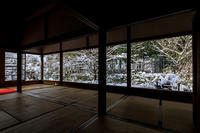 雪の京都宝泉院の額縁雪景色 - 花景色-K.W.C. PhotoBlog
