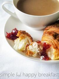 自家製木苺ジャムの幸せな朝食 - serendipity blog