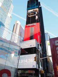 ニューヨークタイムズスクエアとMoMA - グリママの花日記