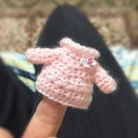 指人形サイズのドールニット - 編み好き@amiami通信