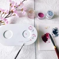春のワクワクを お皿にしたためる - nico☆nicoな暮らし~絵付けと花とおやつ