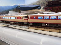 TOMIX キハ80電飾 - 新湘南電鐵 横濱工廠3