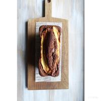 ラベンダーとバナナのチョコパウンド - cuisine18 晴れのち晴れ