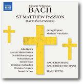BACH/Matthus-Passion - おやぢの部屋2