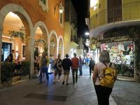 タオルミーナは夜がお勧め~両親連れて海外旅行(南イタリア編)~ - 旅はコラージュ。~心に残る旅のつくり方~