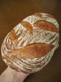 配合見直し、カンパーニュ - slow life,bread life