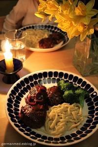 今週末の食卓 - 黒い森の白いくまさん
