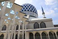 【スルタン・サラフディン・アブドゥル・アジズ・シャー・モスク】マレーシア旅行 - 15 - - うろ子とカメラ。