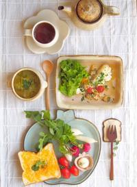 ラディッシュ朝ごはん - 陶器通販・益子焼 雑貨手作り陶器のサイトショップ 木のねのブログ
