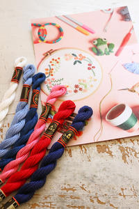 DMCコットンパール糸に少量タイプが登場しました - フェルタート(R)・オフフープ(R)立体刺繍作家PieniSieniのブログ