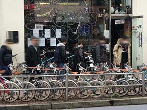 3月17日 渋谷 原宿 の自転車屋 FLAME bike前です - かずりんブログ