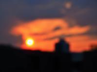 昨日の夕焼け…(´艸`*) - のーんびり hachisu 日記
