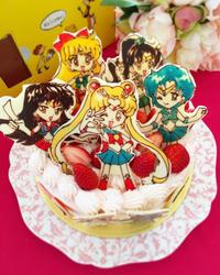セーラームーンケーキ。 - HAPPY FIELD