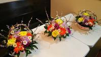 3月のお花教室 - フレイムハウス通信