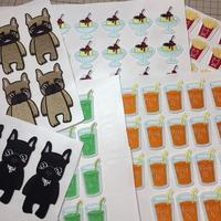 ワッペン制作と想像刺繍 - Atelier Chou