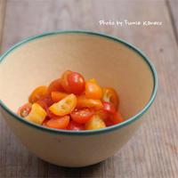 金柑とプチトマトのマリネ - ふみえ食堂  - a table to be full of happiness -