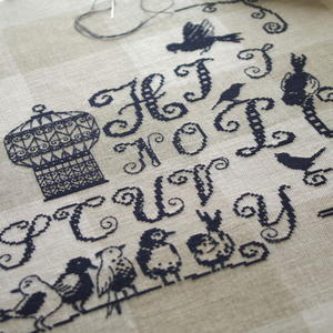 小鳥とアルファベット 2 - あくびノオト