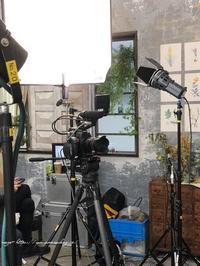 今日は都内のお洒落なスタジオでTV収録でした♪旅計画もホロリ - neige+ 手作りのある暮らし