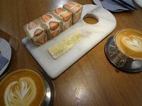 JOE'S CAFEのフルーツサンド - ひなたぼっこ